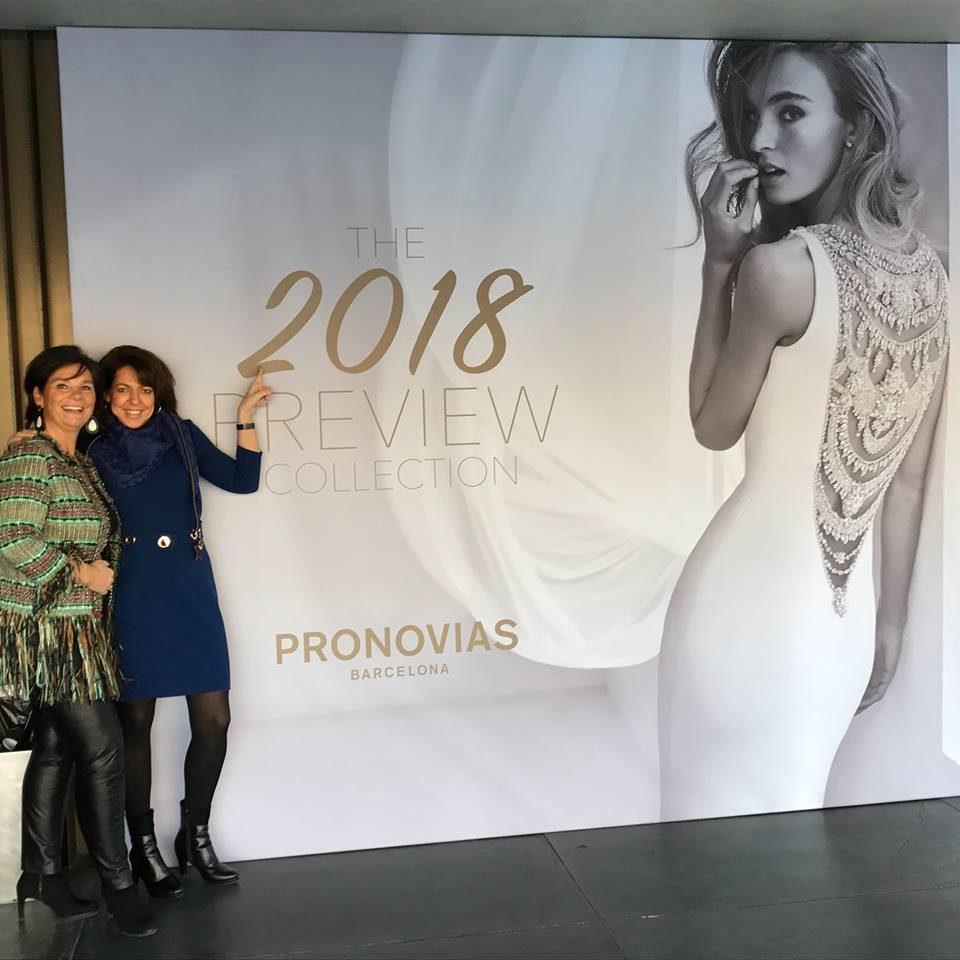 Preview Pronovias 2018